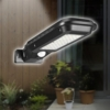 Kültéri, fali napelemes lámpa, fény- és mozgásérzékelővel / 40 leddel – T-100B